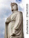 Queen Olga Statue Mikhaylovsky...