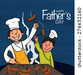 happy father's day celebrations ... | Shutterstock .eps vector #276652160