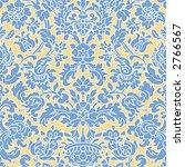 vector seamless retro wallpaper ... | Shutterstock .eps vector #2766567