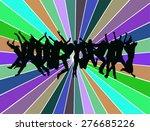 jump  | Shutterstock .eps vector #276685226