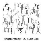 jump  | Shutterstock .eps vector #276685238