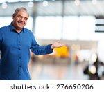 portrait of a mature man... | Shutterstock . vector #276690206