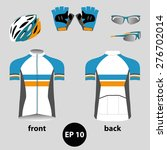 bike or bicycle clothing set.... | Shutterstock .eps vector #276702014