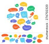 speech bubbles in different...   Shutterstock . vector #276702320