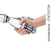 cyber communication design... | Shutterstock . vector #276712724