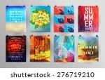 set of poster  flyer  brochure... | Shutterstock .eps vector #276719210