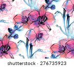 print  pattern with a three... | Shutterstock .eps vector #276735923