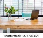 Modern Home Office Workspace...