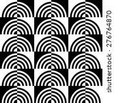 seamless geometric pattern.... | Shutterstock .eps vector #276764870