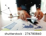 young creative designer man... | Shutterstock . vector #276780860