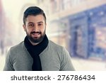 young man outdoors portrait  | Shutterstock . vector #276786434