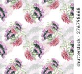 seamless pattern with beautiful ... | Shutterstock . vector #276798668