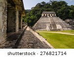 Mayan Ruins In Palenque ...