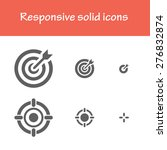 responsive solid icons ...