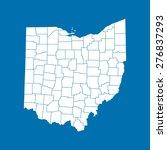 map of ohio   Shutterstock .eps vector #276837293