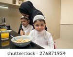 Arabian Family Of Mother And...