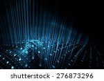 abstract futuristic background | Shutterstock . vector #276873296