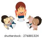 diverse businesspeople in...   Shutterstock .eps vector #276881324