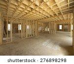 New House Interior Framing...