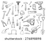 hand drawn vector illustration... | Shutterstock .eps vector #276898898