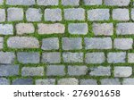 old cobblestone background with ... | Shutterstock . vector #276901658