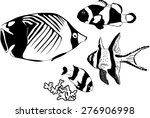 marine fishes | Shutterstock . vector #276906998