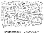 business doodles | Shutterstock .eps vector #276909374