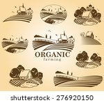 vector design elements with... | Shutterstock .eps vector #276920150