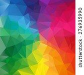 Vector Polygonal Background...