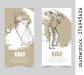 vector template banners.... | Shutterstock .eps vector #276945626