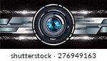 dark black color light abstract ... | Shutterstock .eps vector #276949163