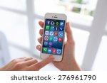 alushta  russia   july 14  2014 ... | Shutterstock . vector #276961790