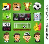 set of realistic vector icons... | Shutterstock .eps vector #276962873