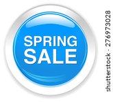 spring sale button | Shutterstock .eps vector #276973028