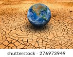 The Earth On Dry Ground. Land...