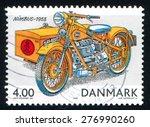 denmark   circa 2002  stamp... | Shutterstock . vector #276990260
