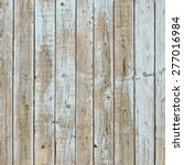 peeled painted wooden planks... | Shutterstock .eps vector #277016984