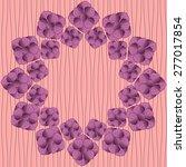 circular floral pattern....