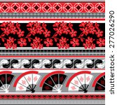vector seamless pattern with... | Shutterstock .eps vector #277026290