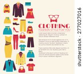 fashion clothing infographics... | Shutterstock .eps vector #277027016