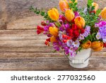 fresh blue  violet  and red... | Shutterstock . vector #277032560