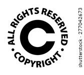 copyright all rights reserved | Shutterstock . vector #277042673