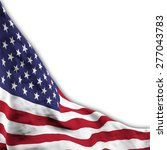 flag of usa  shifted to show... | Shutterstock . vector #277043783