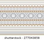 set of ethnic ornament pattern...   Shutterstock .eps vector #277043858