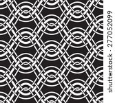 abstract interlaced wavy lines  ... | Shutterstock .eps vector #277052099