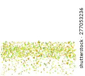 vector confetti isolated on... | Shutterstock .eps vector #277053236