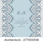 elegant vector background with... | Shutterstock .eps vector #277053548