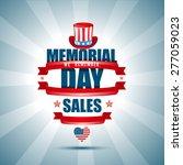 vector illustration on memorial ... | Shutterstock .eps vector #277059023