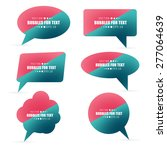 abstract creative concept... | Shutterstock .eps vector #277064639