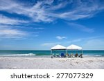 Two Portable Canopy's With...